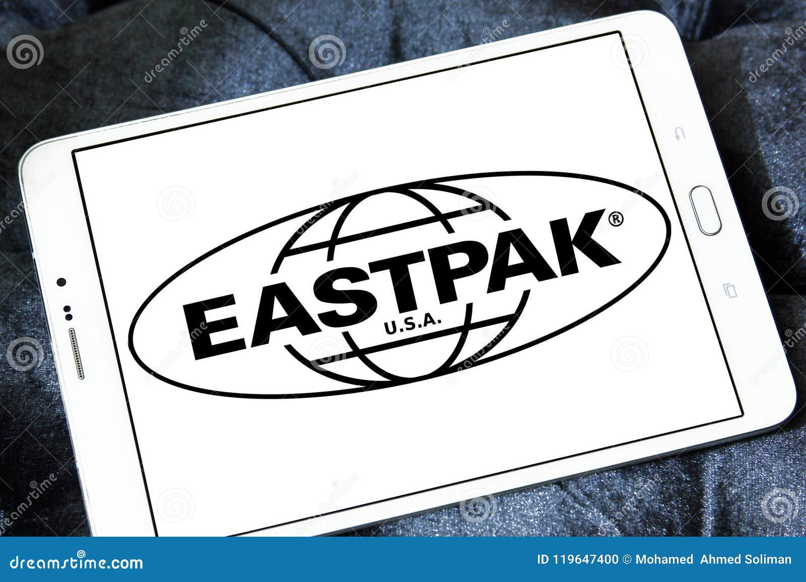 Eastpak company logo editorial image  Image of brands - 119647400