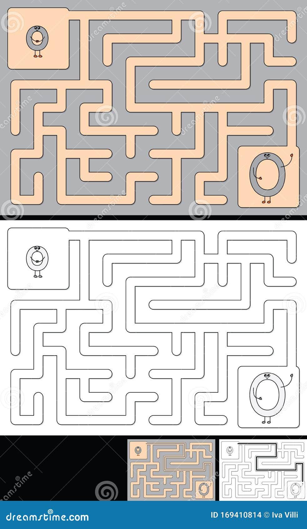 Letter H Maze Coloring Page - Twisty Noodle | 1689x982