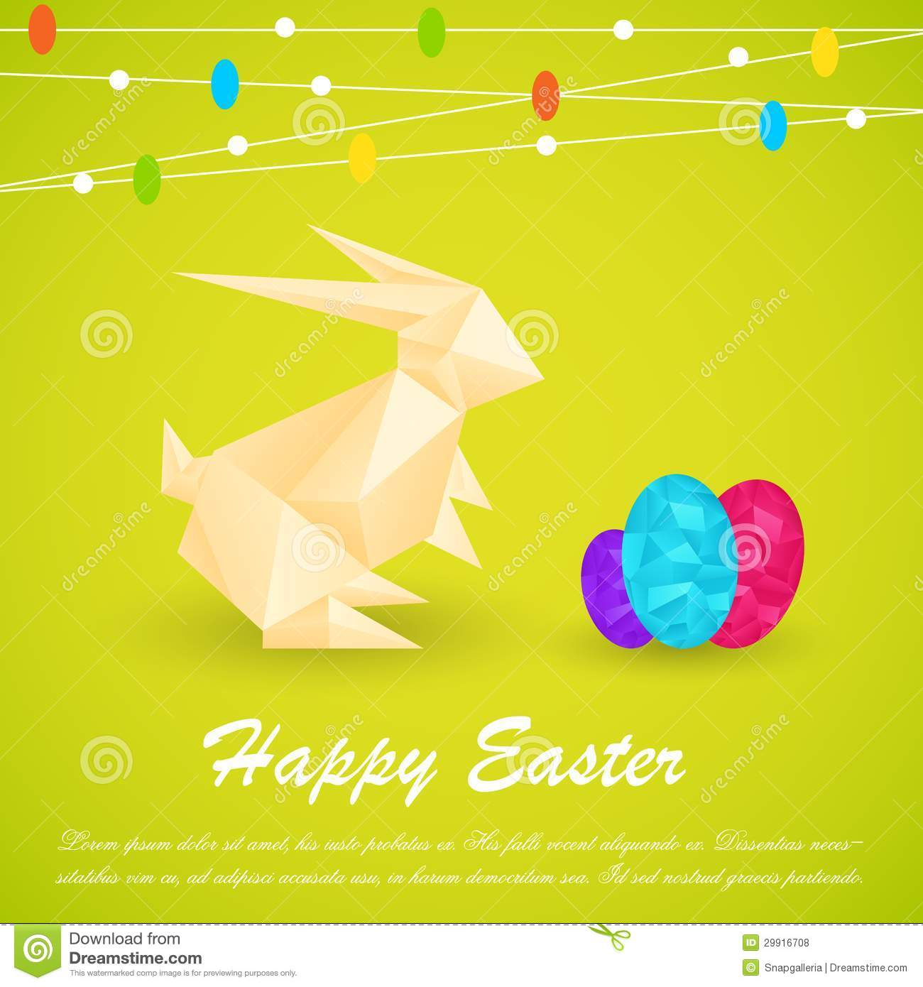 Origami Easter Bunny Container/Basket (Full HD) - YouTube | 1390x1300