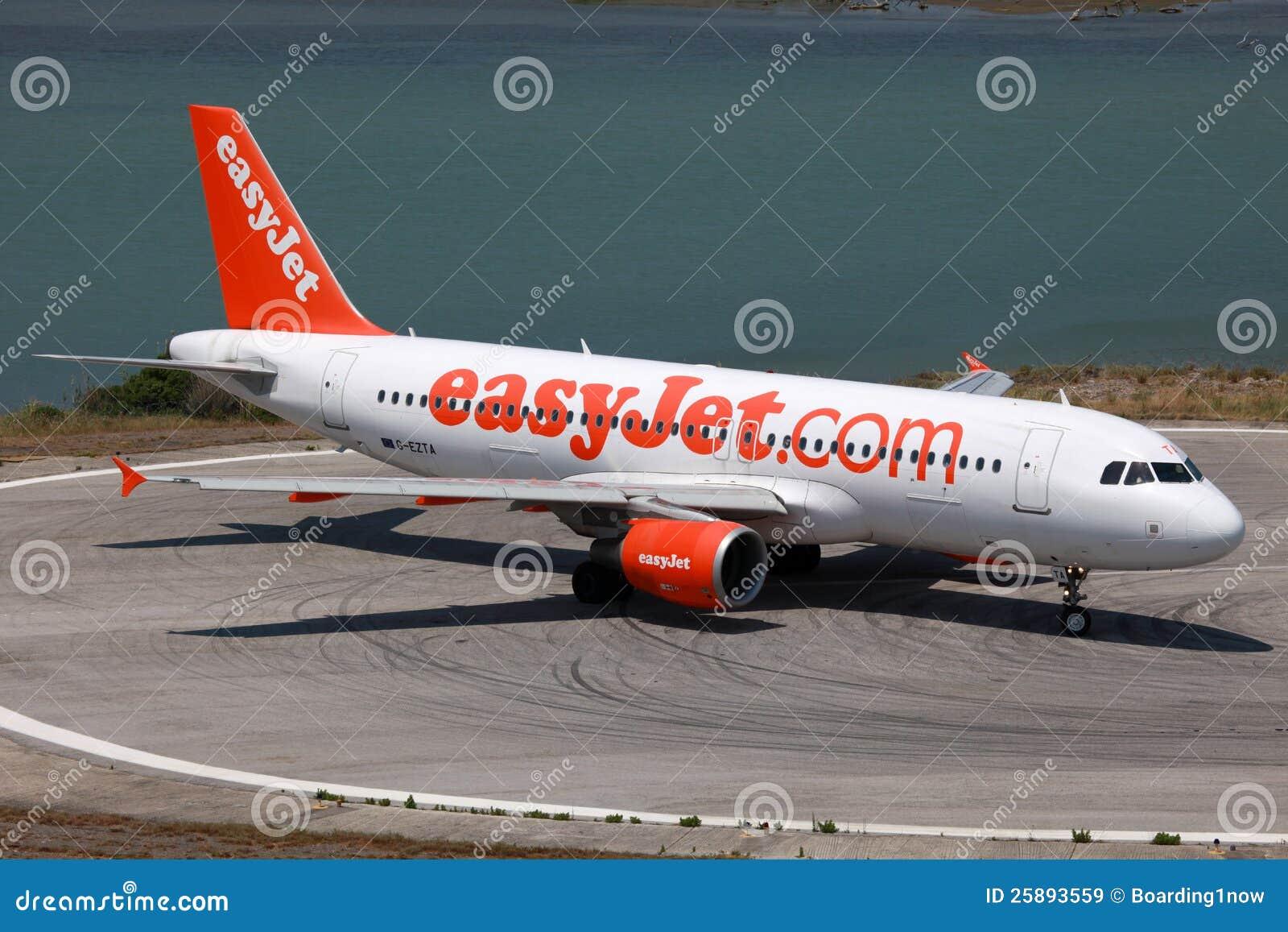 EasyJet flygbuss A320