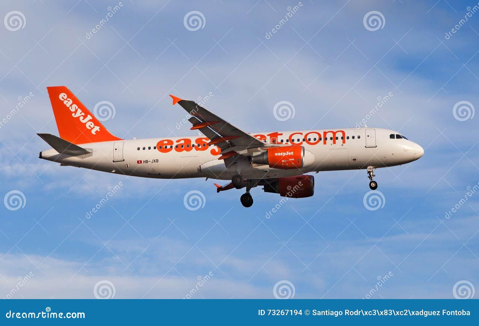 EasyJet Switzerland flygbuss A320