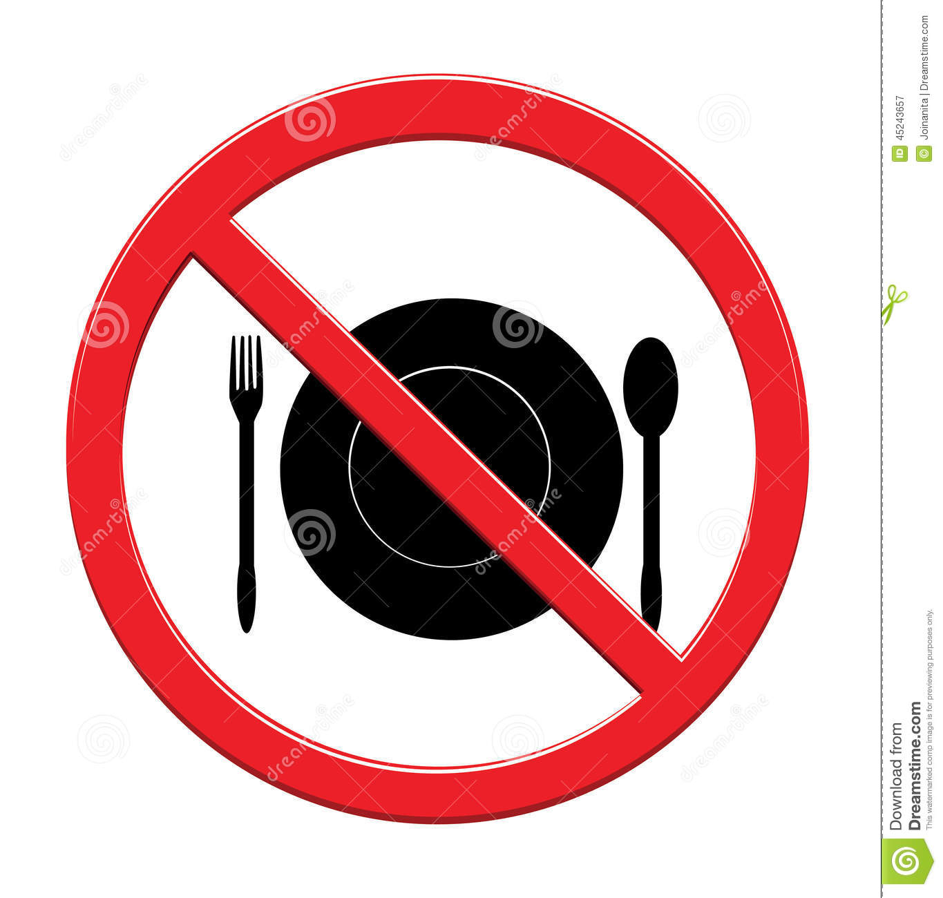 Download Eat Sign Food Icon Backgrounde On White Stock Vector - Illustration of table, black: 45243657
