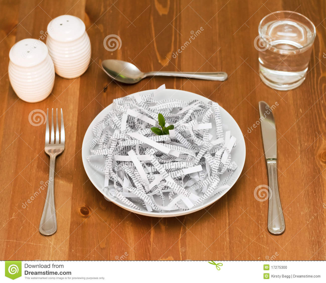 Eat Your Words Stock Photo - Image: 17275300