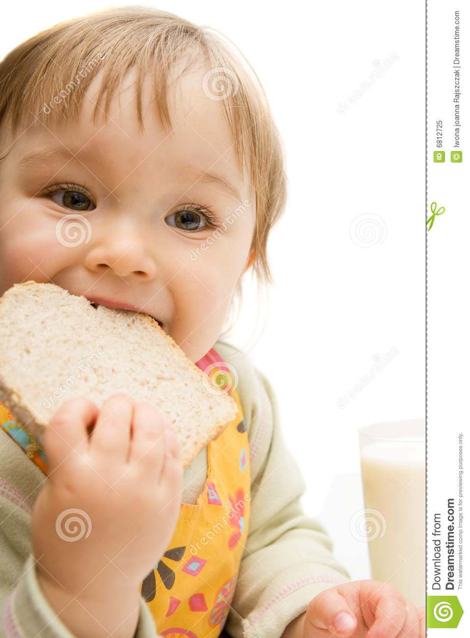 Eating Baby Royalty Free Stock Photo - Image: 6812725