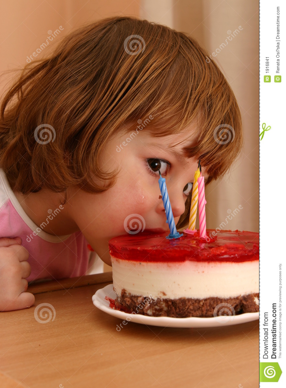 Eating my birthday cake