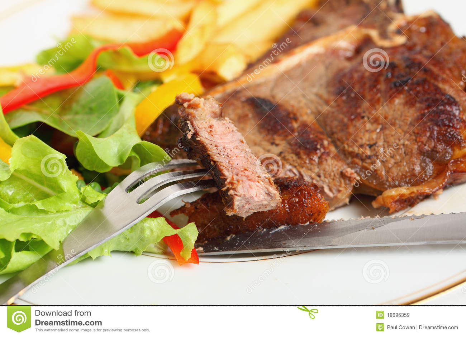 Forum on this topic: Porterhouse Steak with Grilled Salad, porterhouse-steak-with-grilled-salad/