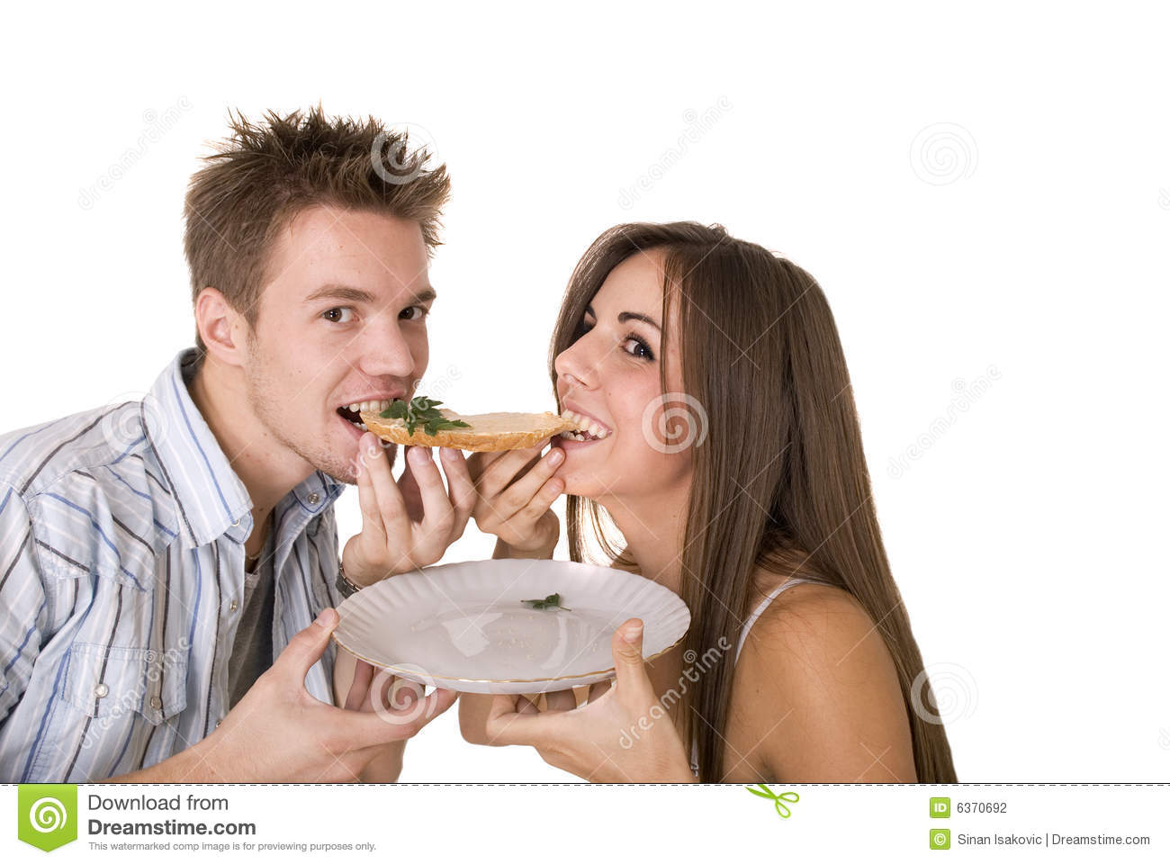 Girl eats boyfriend