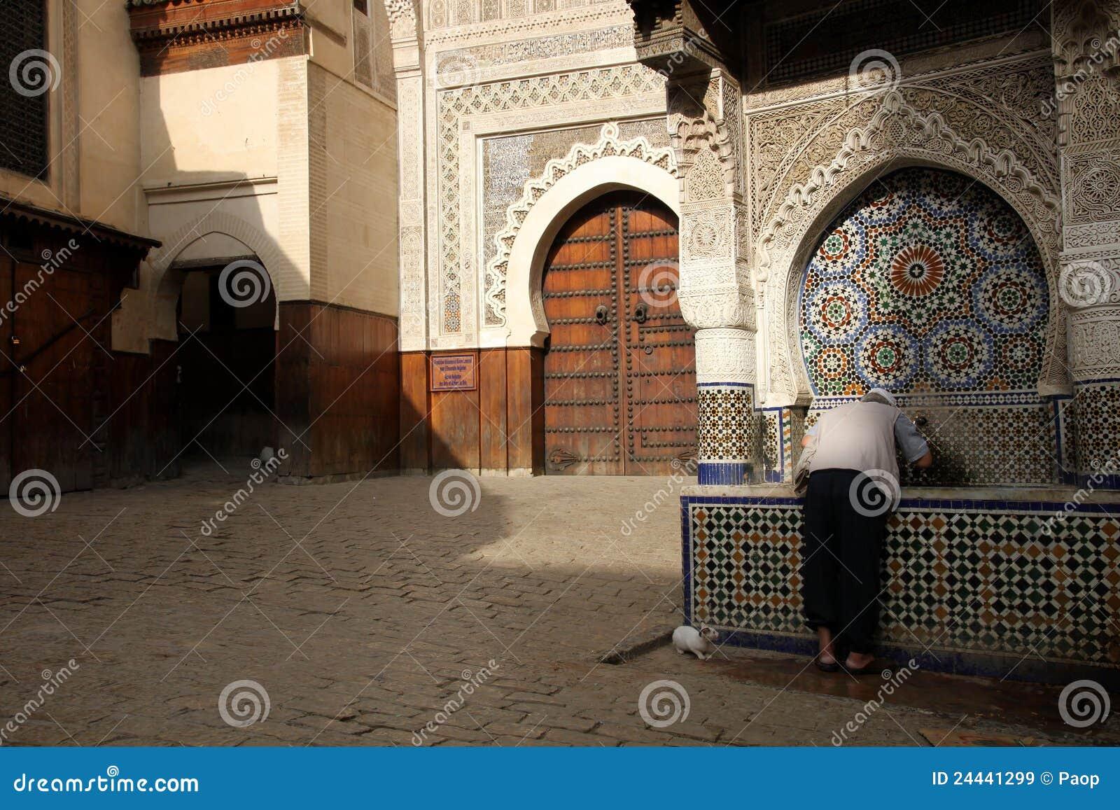 Eau potable dans le medina