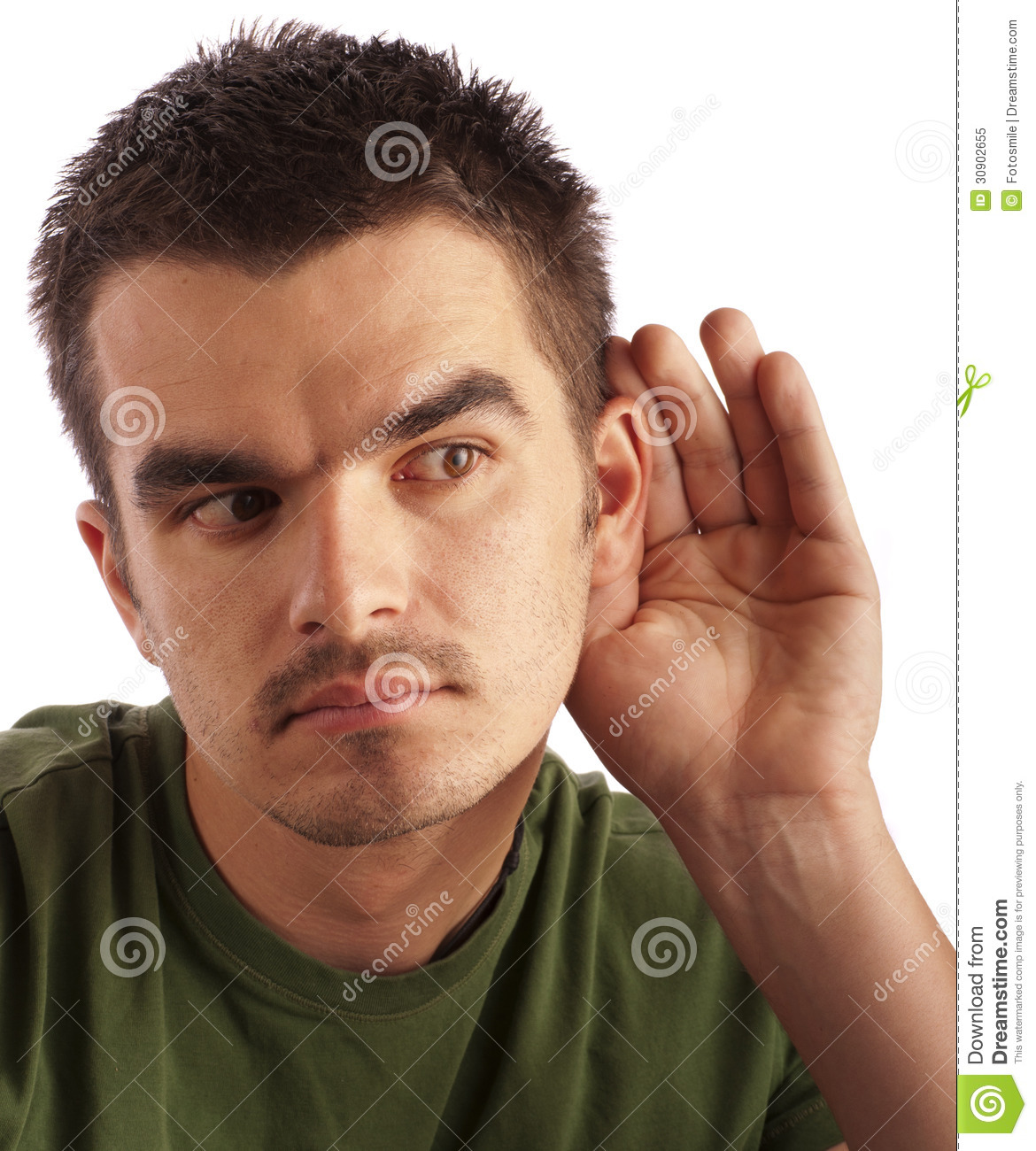 Eavesdropping Royalty Free Stock Photo - Image: 30902655