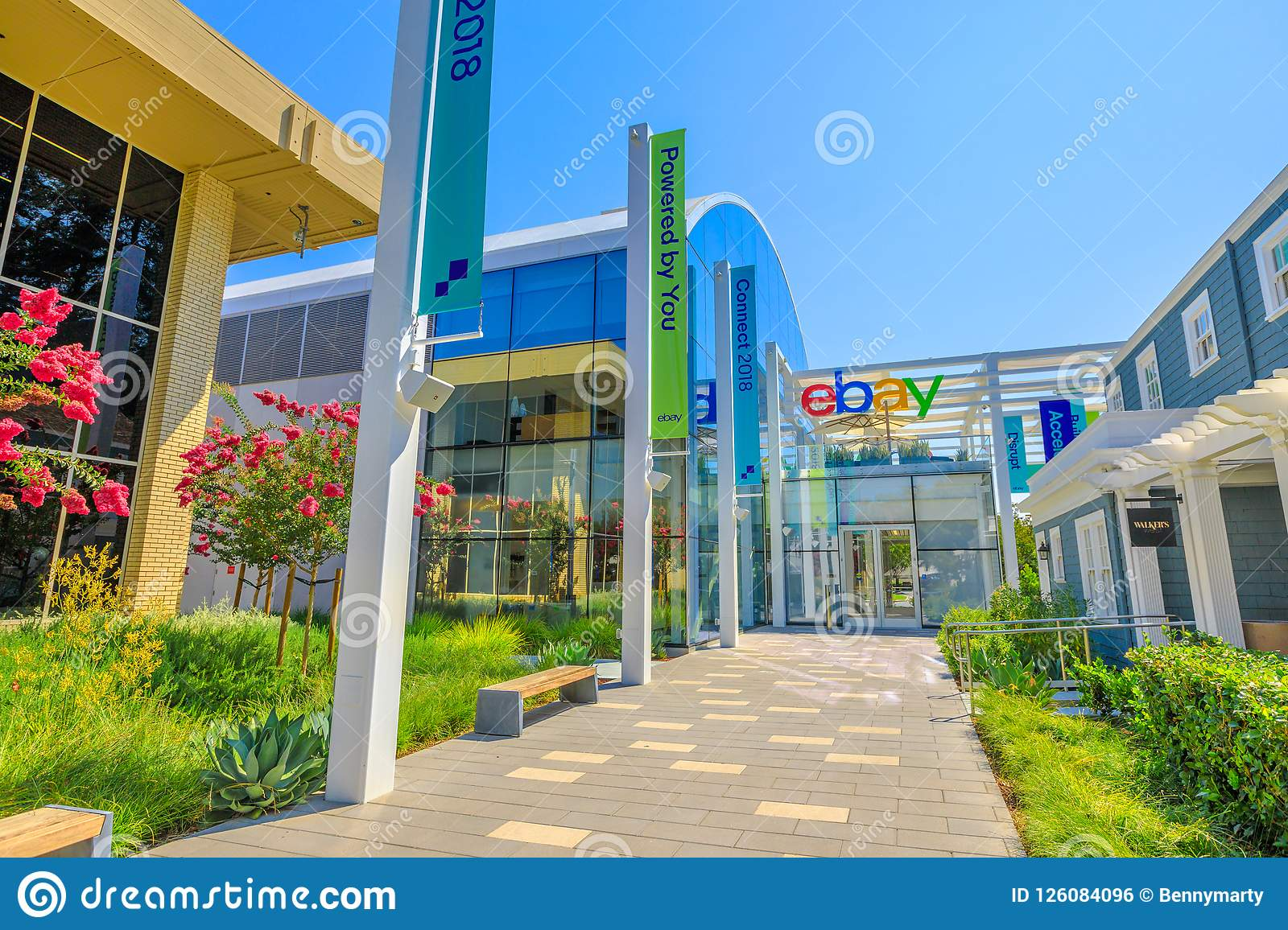 Ebay Campus Silicon Valley Editorial Photo Image Of Marketplace