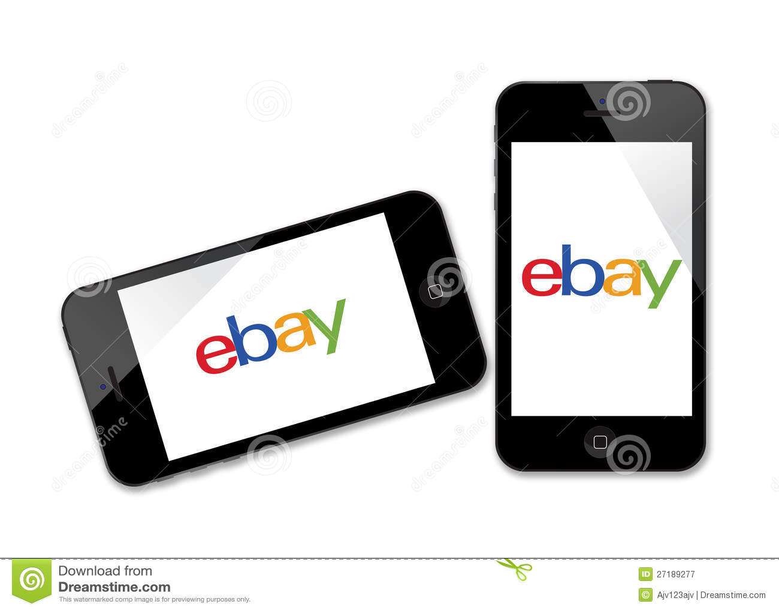 Ebay Logo On IPhone Editorial Photography - Image: 27189277