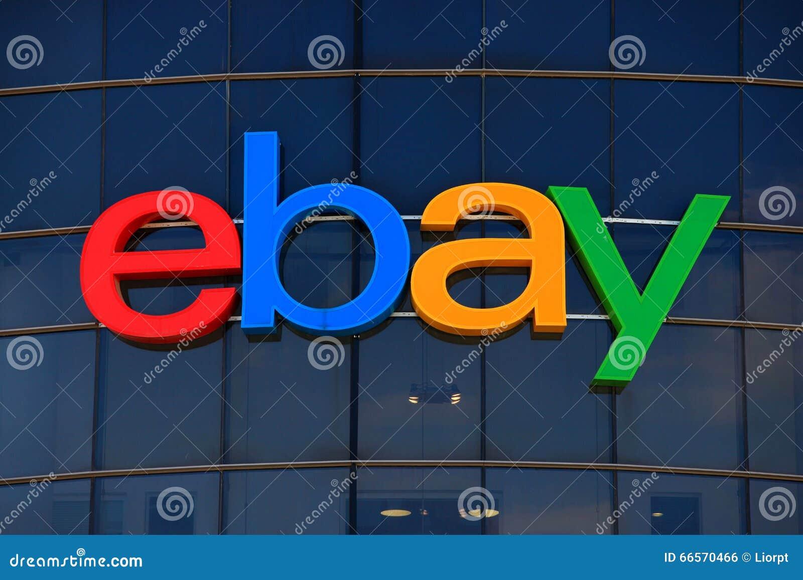 Ebay Zeichen Redaktionelles Foto Bild Von Pierre Kalifornien