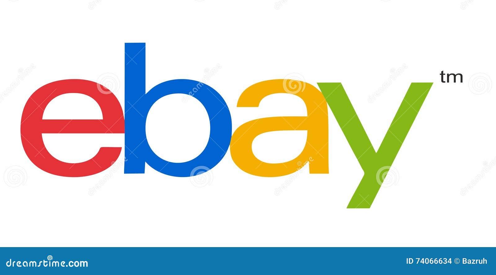 Ebay Zeichen Redaktionelles Stockbild Illustration Von