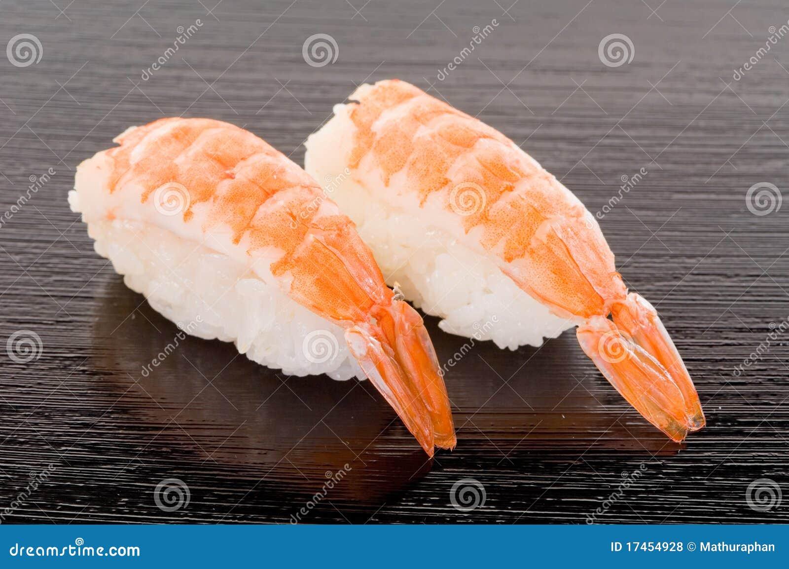 Ebi Sushi Stock Photo Image Of Kitchen Avocado Calamari 17454928
