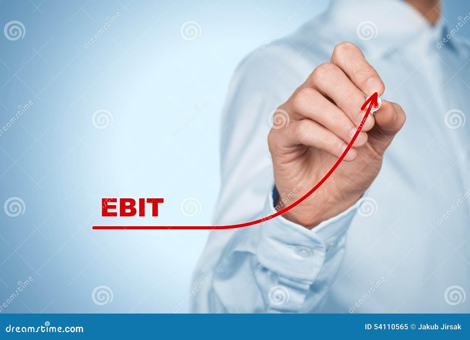 Ebit Increase Stock Illustration Image 54110565