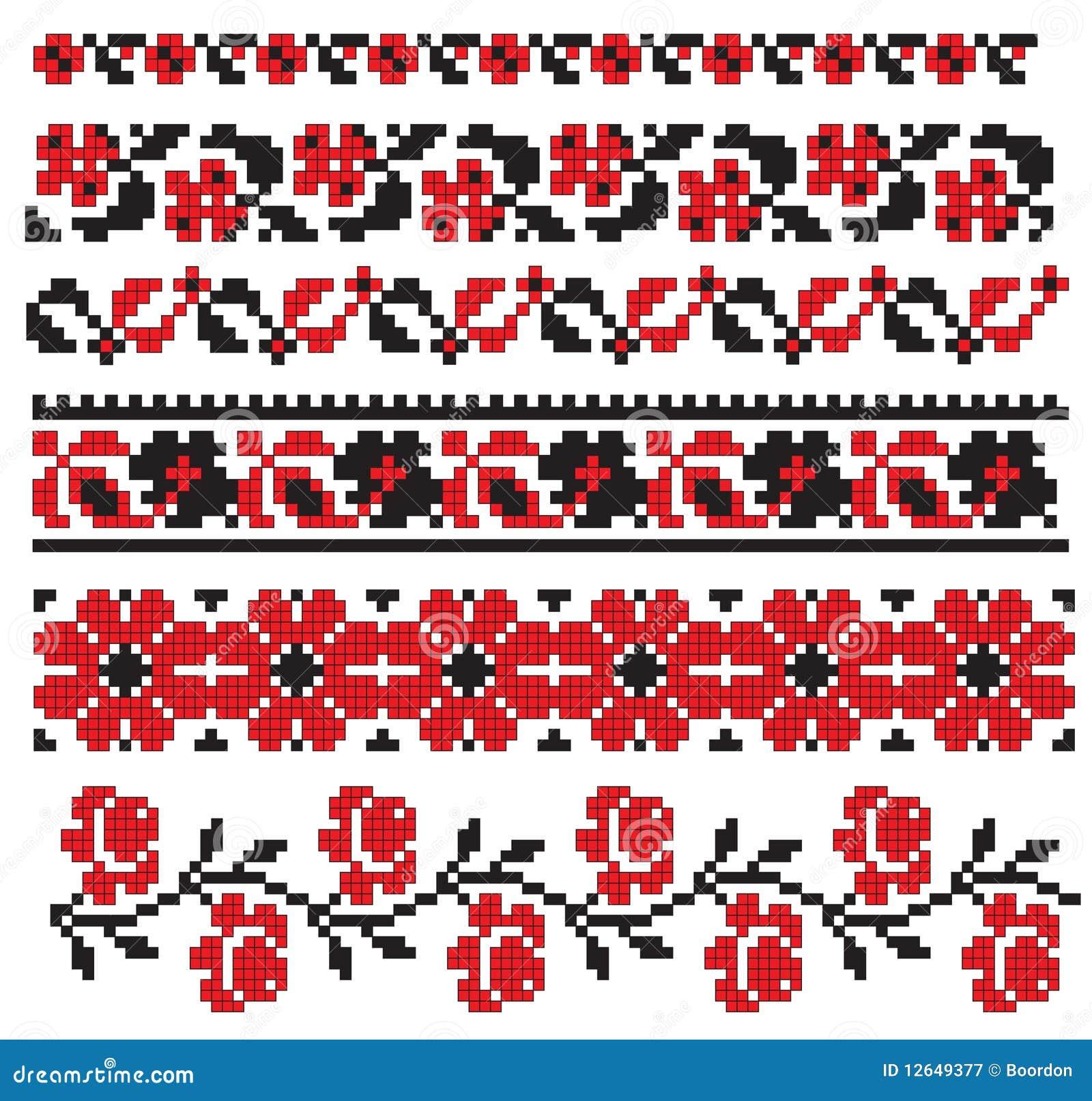 Ebmroidery kwiatu ukrainian