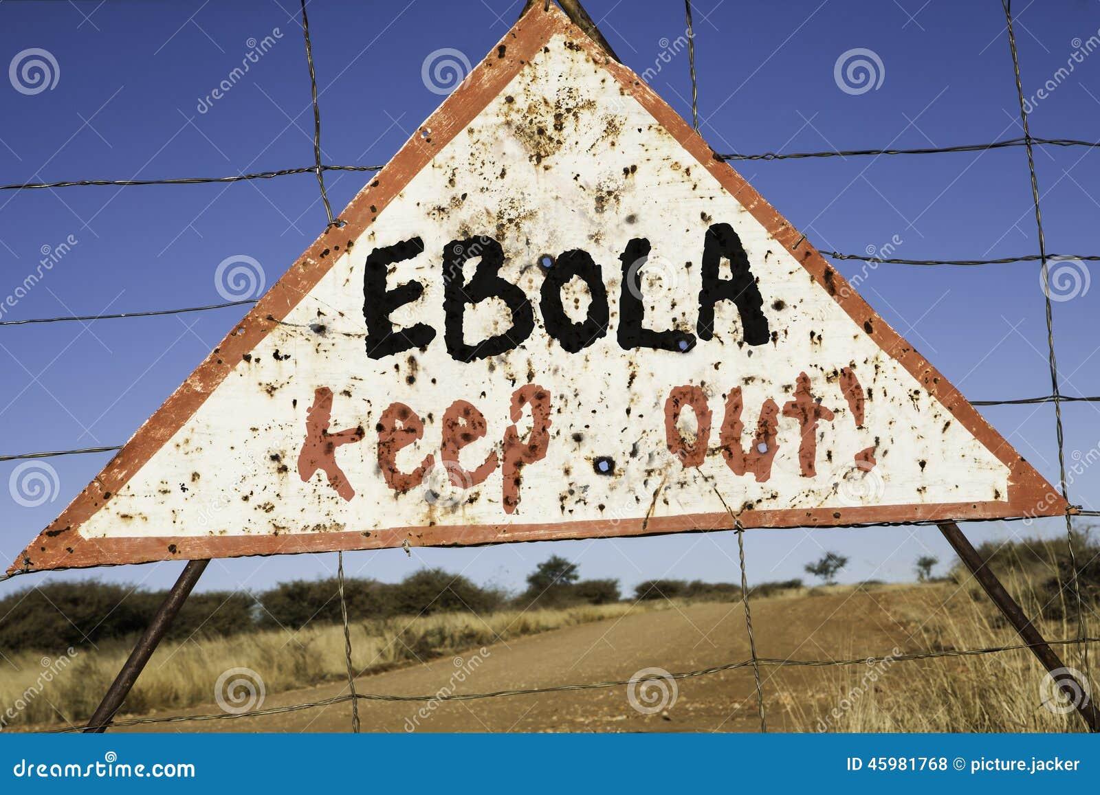 Ebola houdt uit