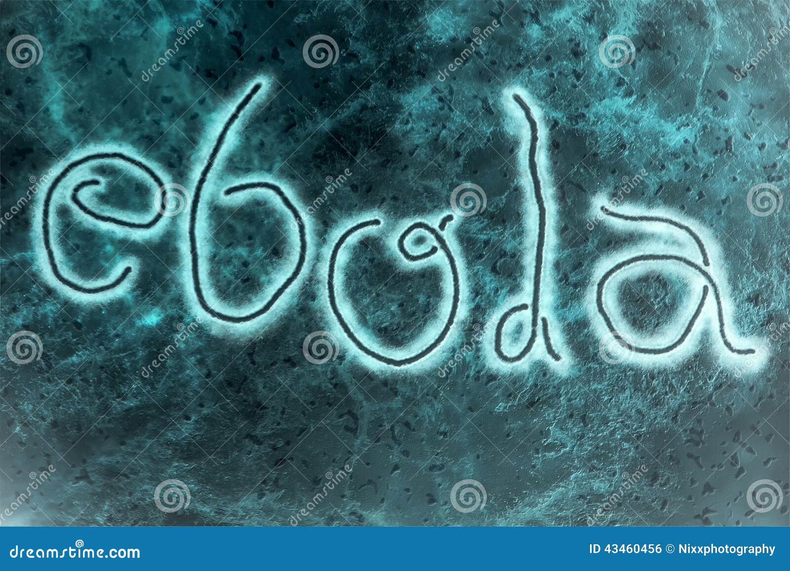 ebola virus stock illustration image 43460456
