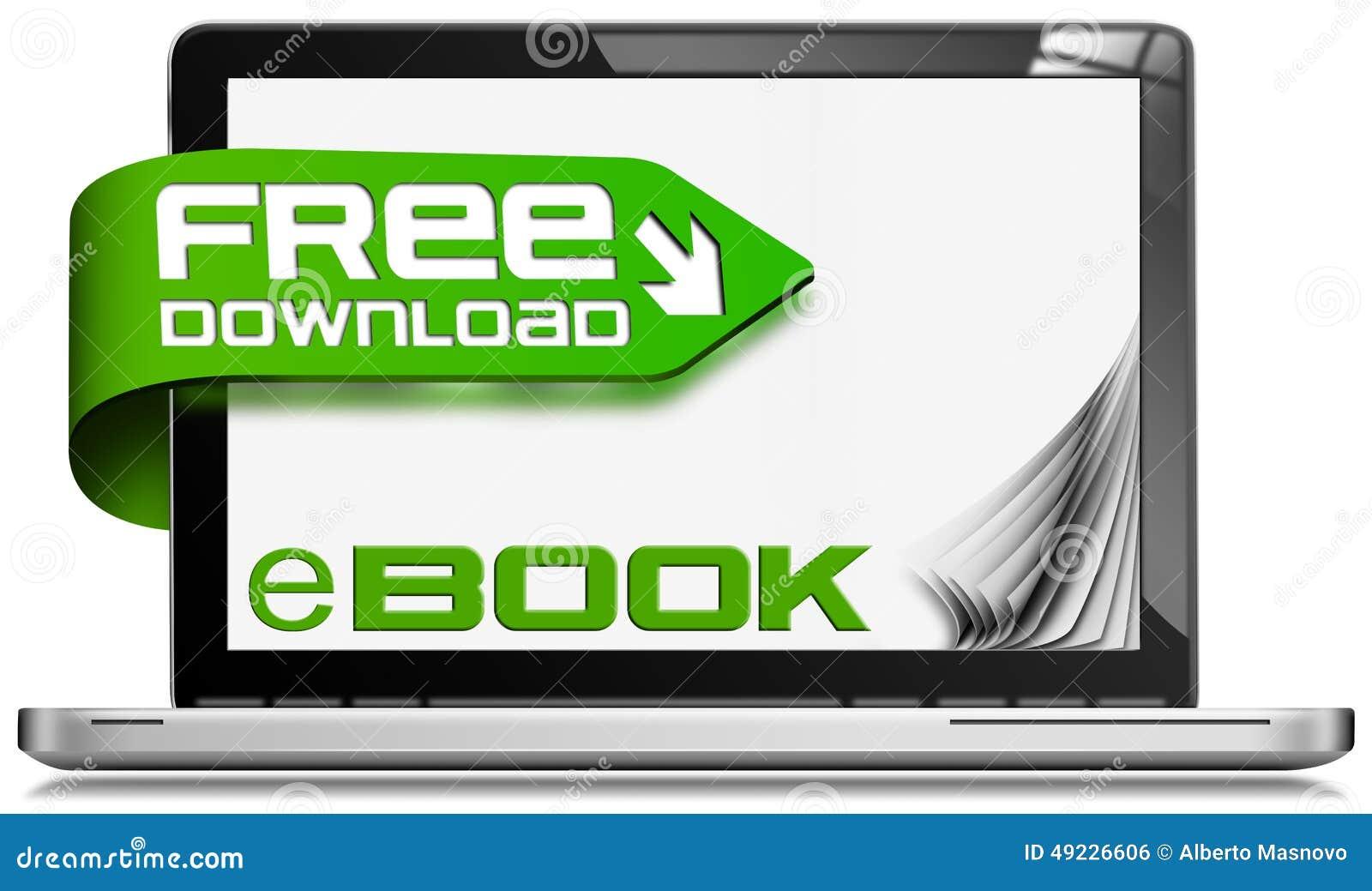 EBook fri nedladdning - bärbar datordator