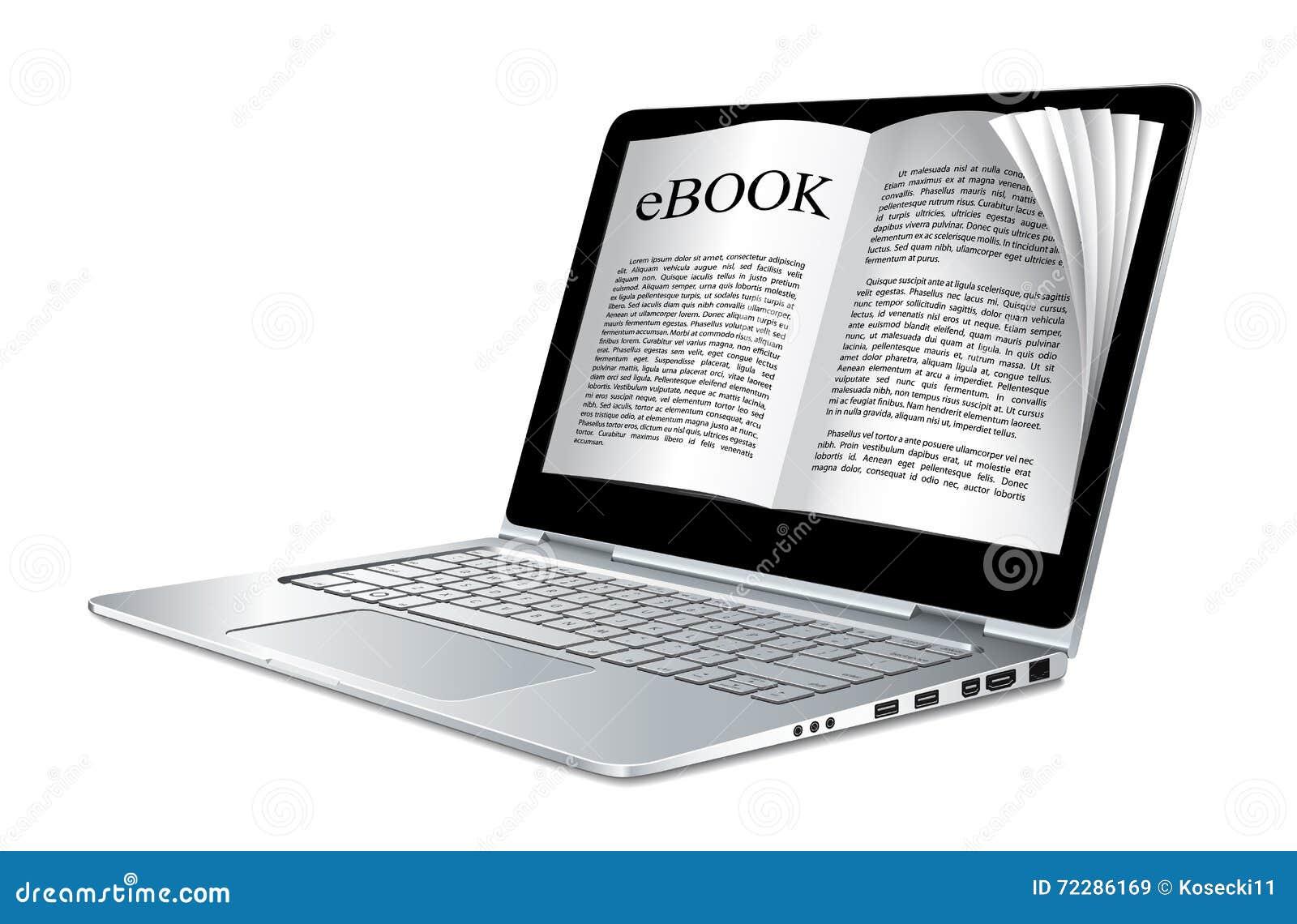 Ebook Ordinateur Portable En Tant Que Livre Electronique