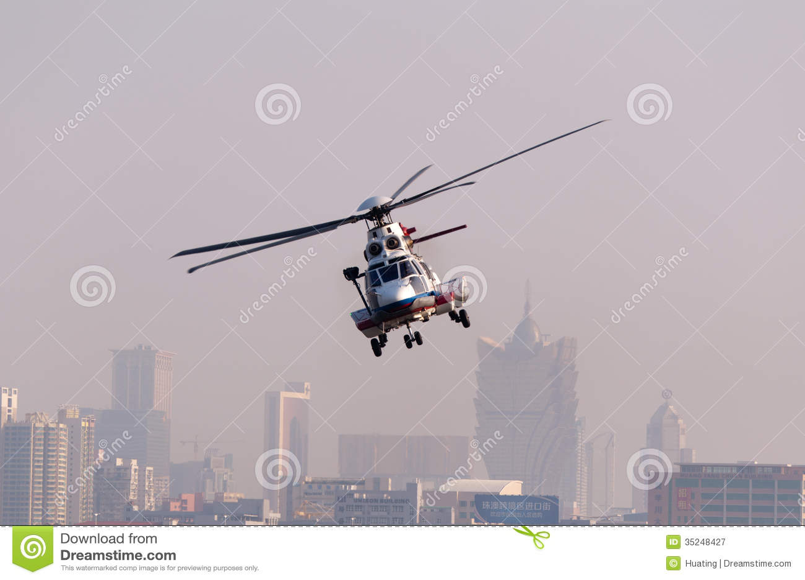 EC225抢救直升机