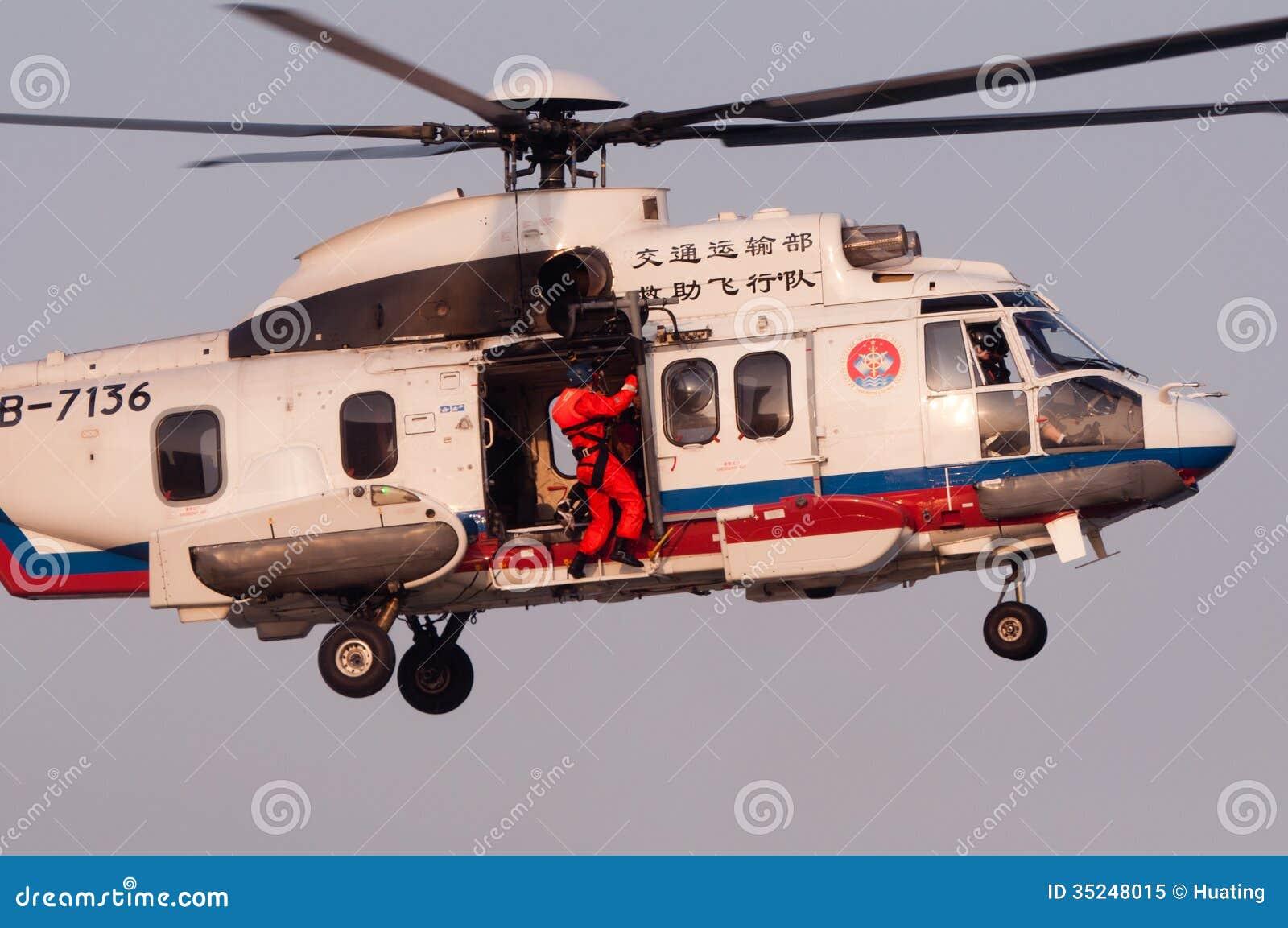 EC225 reddingshelikopter