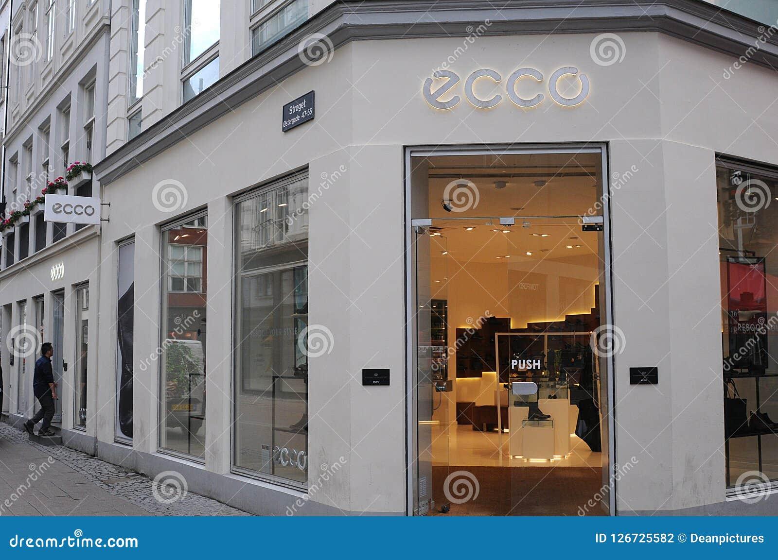 super service Ausverkauf ungleich in der Leistung ECCO SHOE STOR IN COPENHAGEN DENMARK Editorial Photography ...