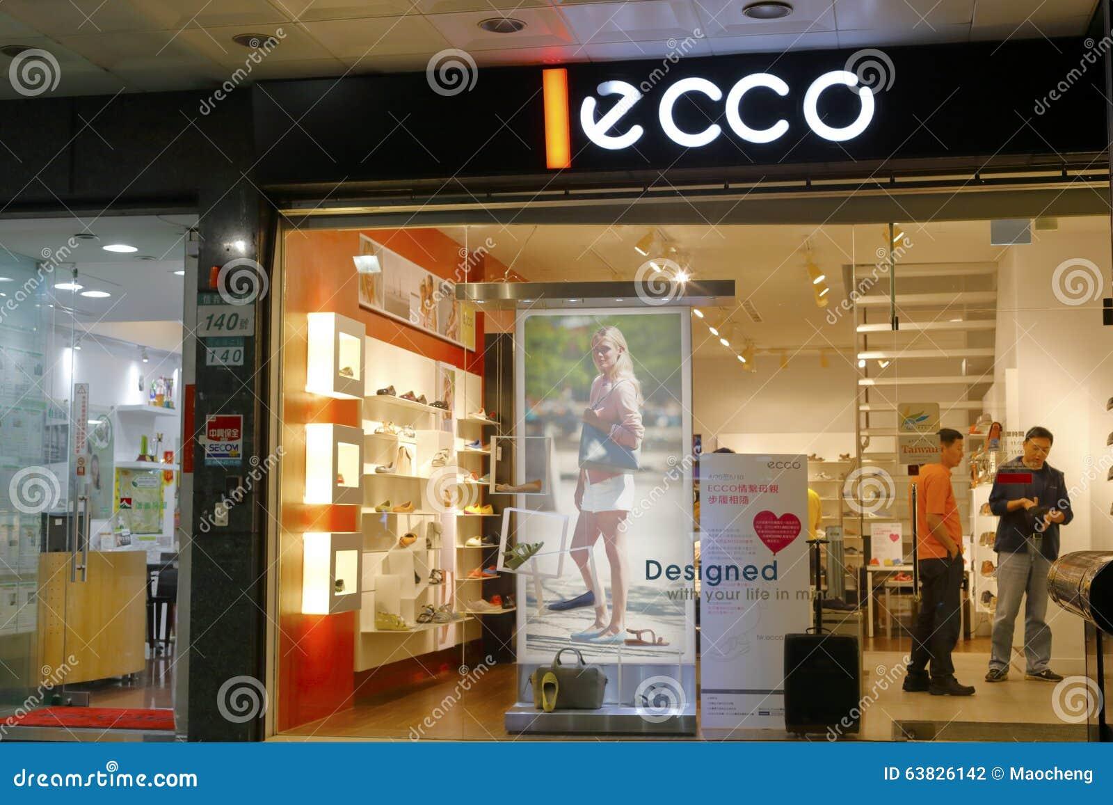 gehobene Qualität näher an Neuankömmling Ecco shoe store editorial photography. Image of retail ...