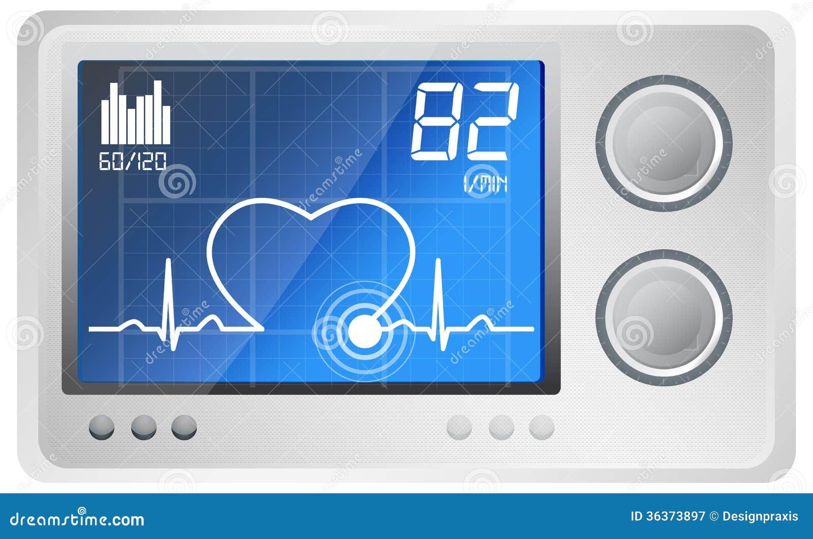 ecg monitoring illustration royalty free stock ekg vector art ekg vector srca objasnjenje