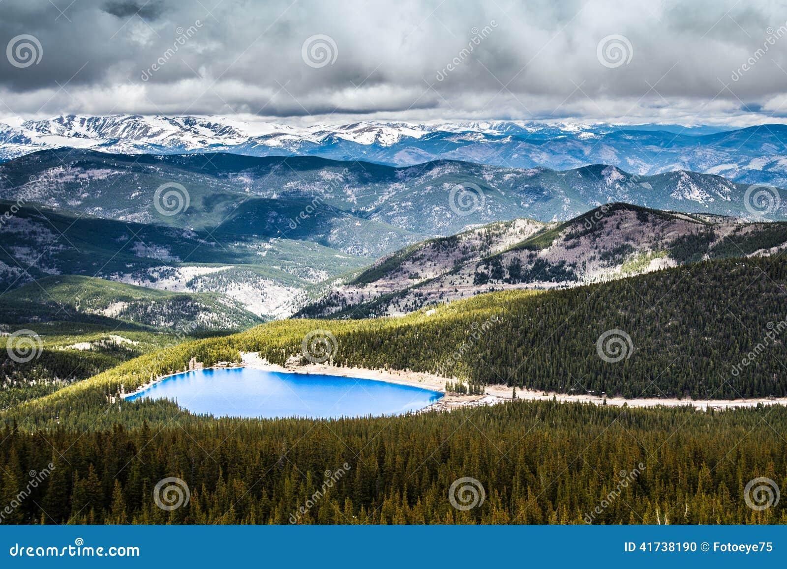 Echo Lake en Mt Evans Colorado
