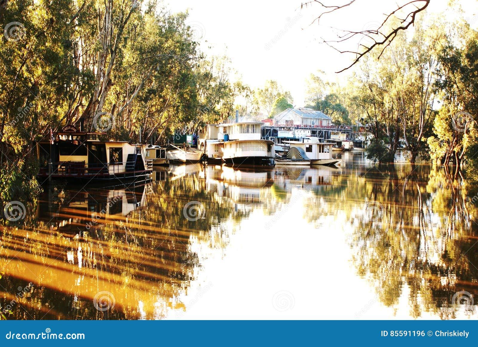 Echuca历史的港