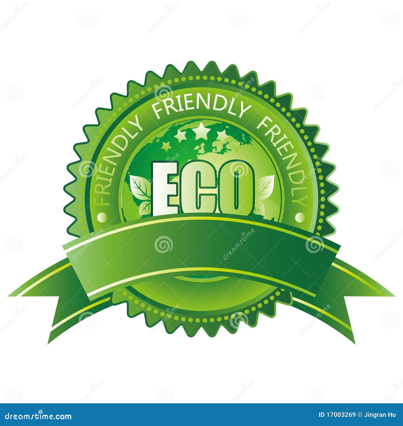 Eco友好图标