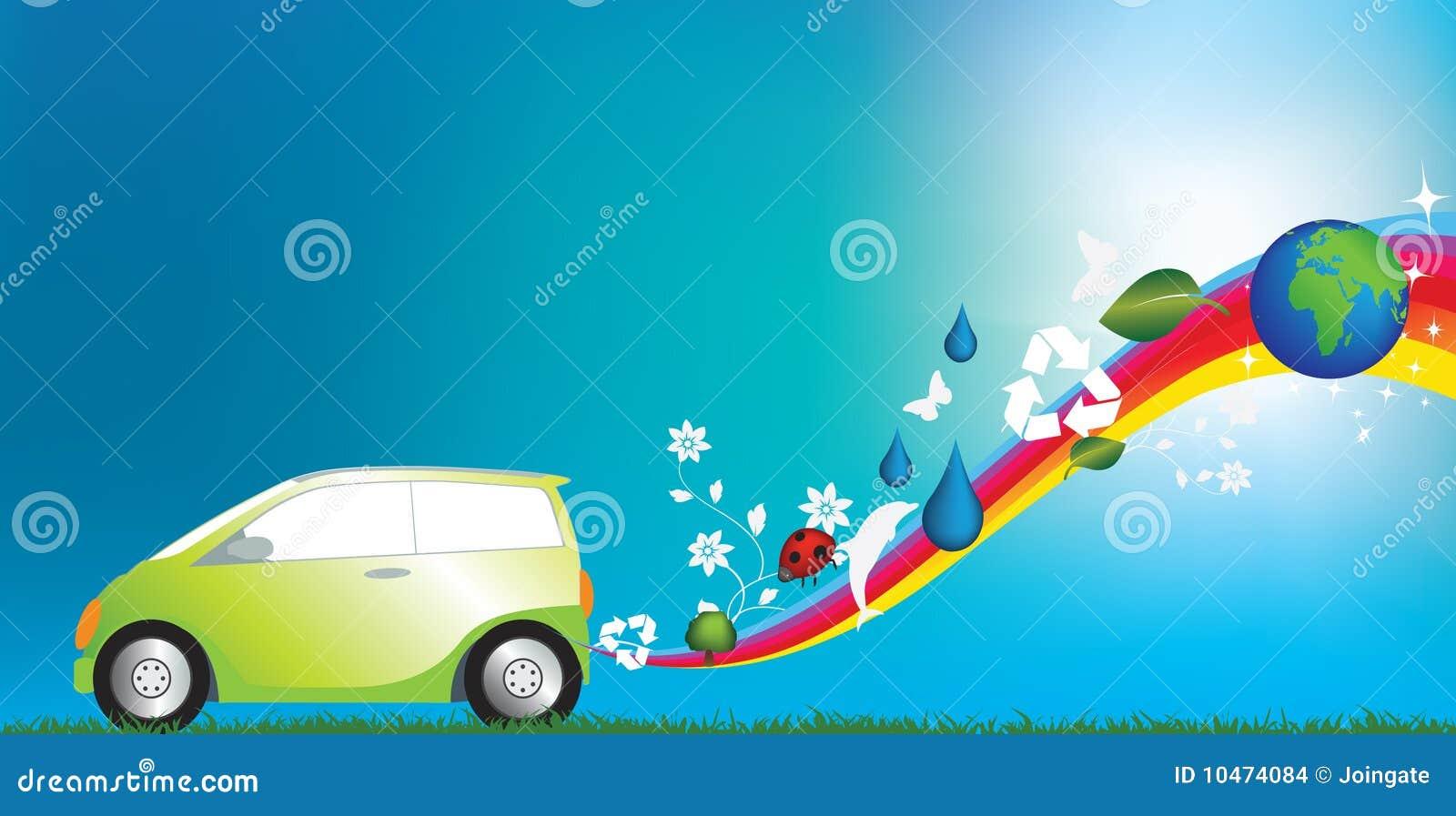 Eco αυτοκινήτων φιλικό