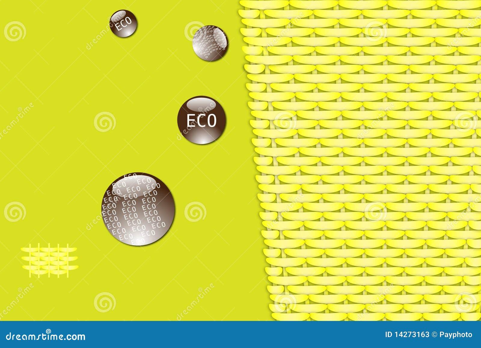 Eco μπαμπού ανασκόπησης