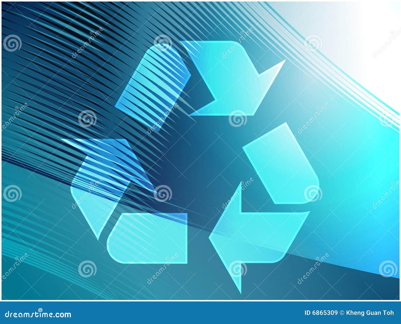 Eco рециркулируя символ