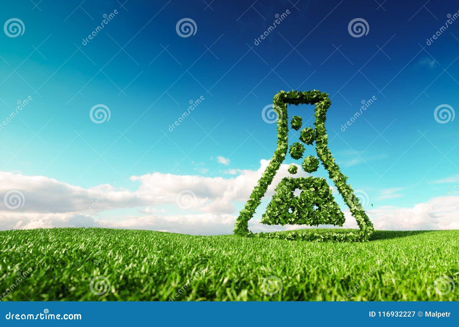 Eco amichevole, bio-, nessuno spreco, inquinamento zero, agri senza antiparassitari