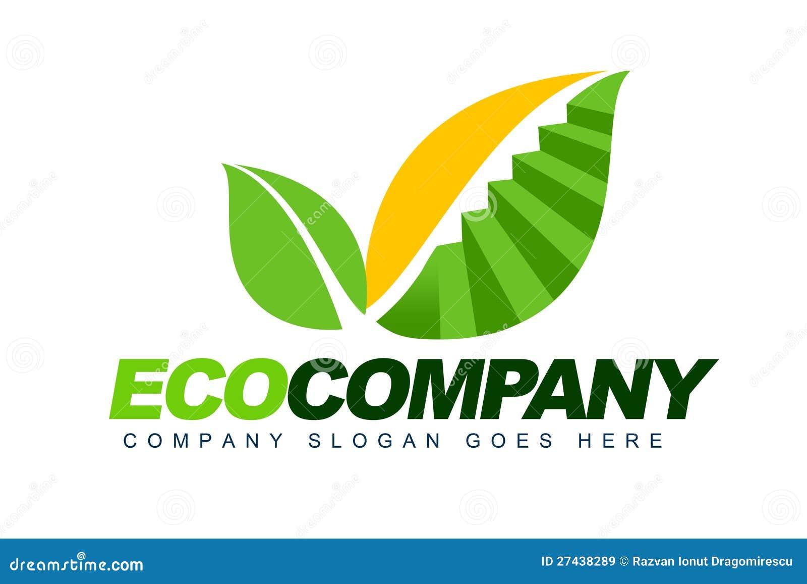 Eco Company Logo Royalty Free Stock Images Image 27438289