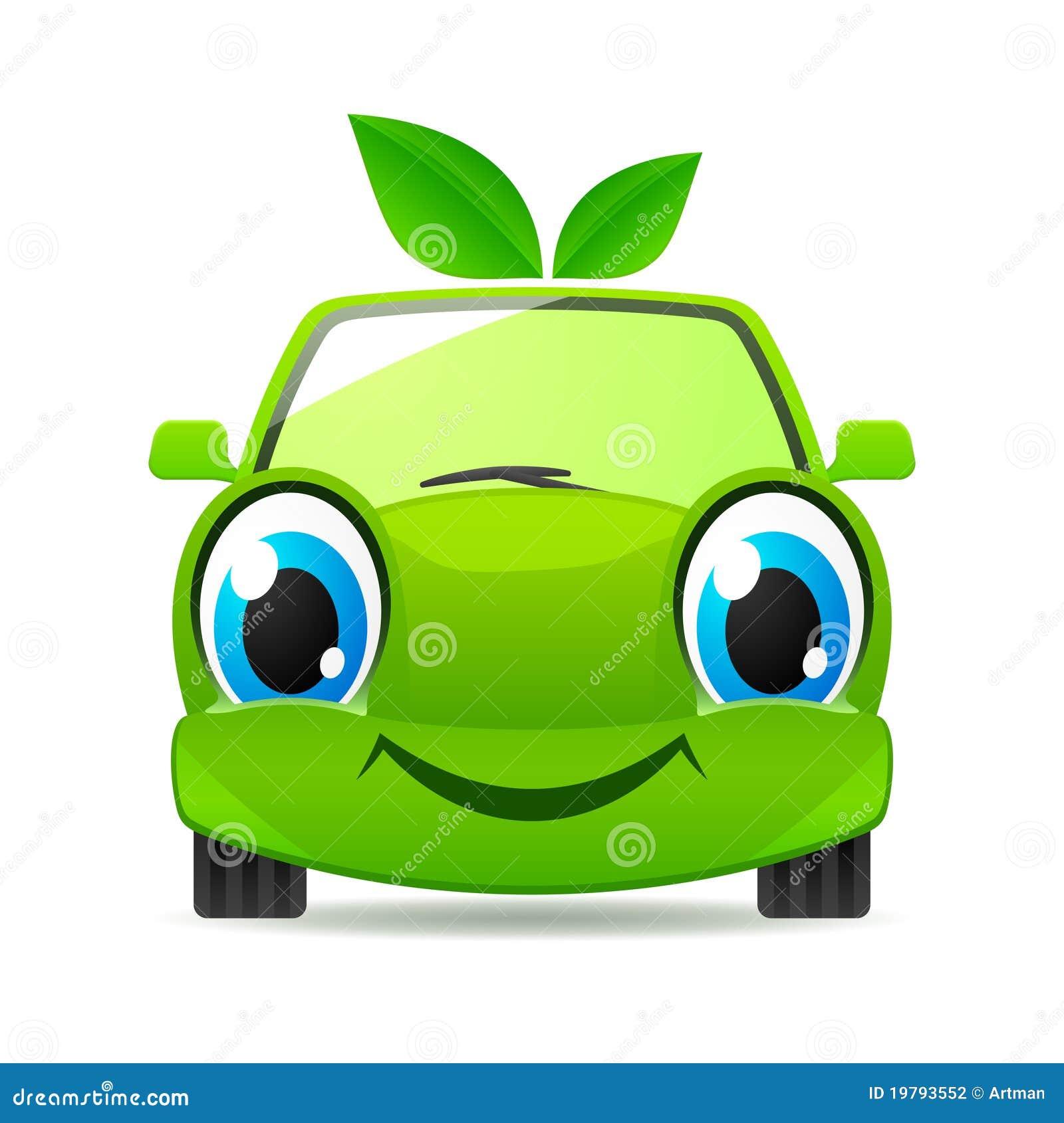Electric Car Logo Vector