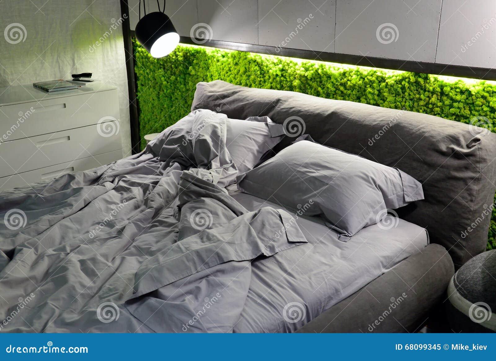 Eco-friendly Bedroom Stock Photo