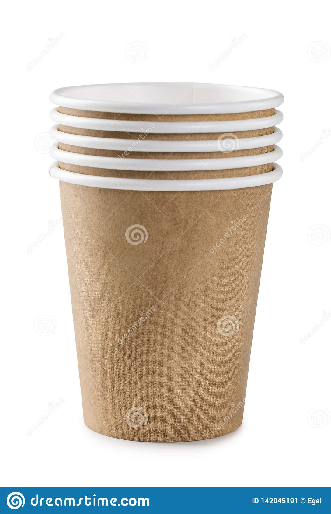 Eco friendly disposable paper cups
