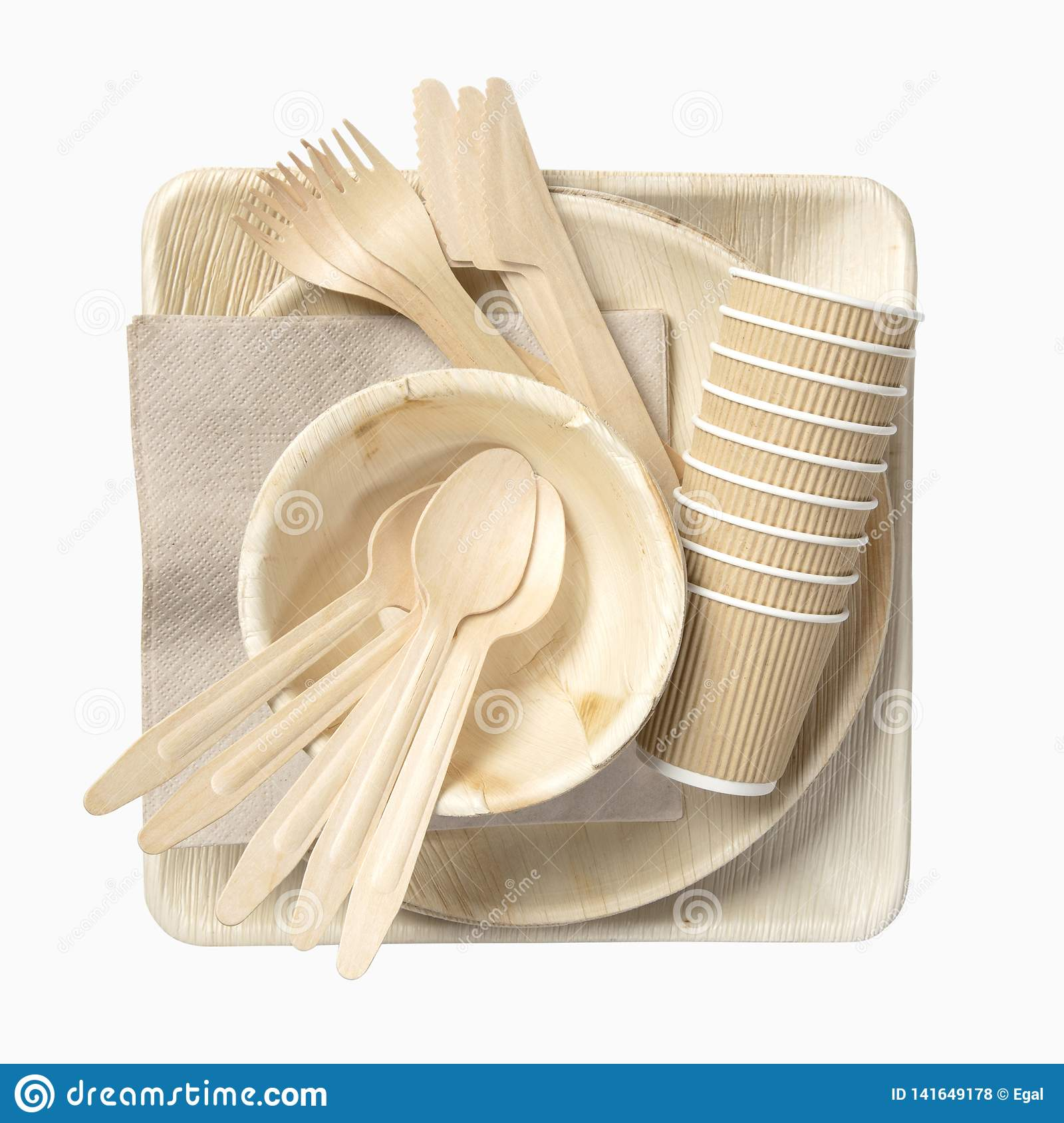 Eco friendly disposable tableware