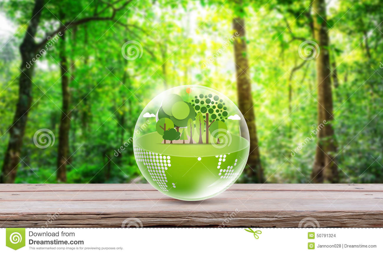 Eco friendly earth stock photo image 50791324 for Why is wood sustainable