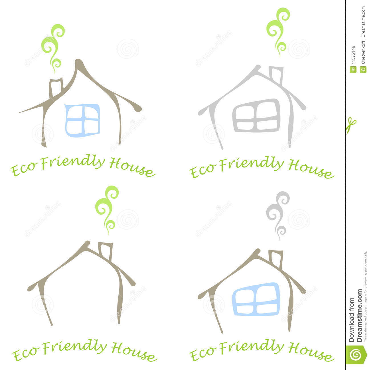 Eco Friendly House Royalty Free Stock Image Image 11575146