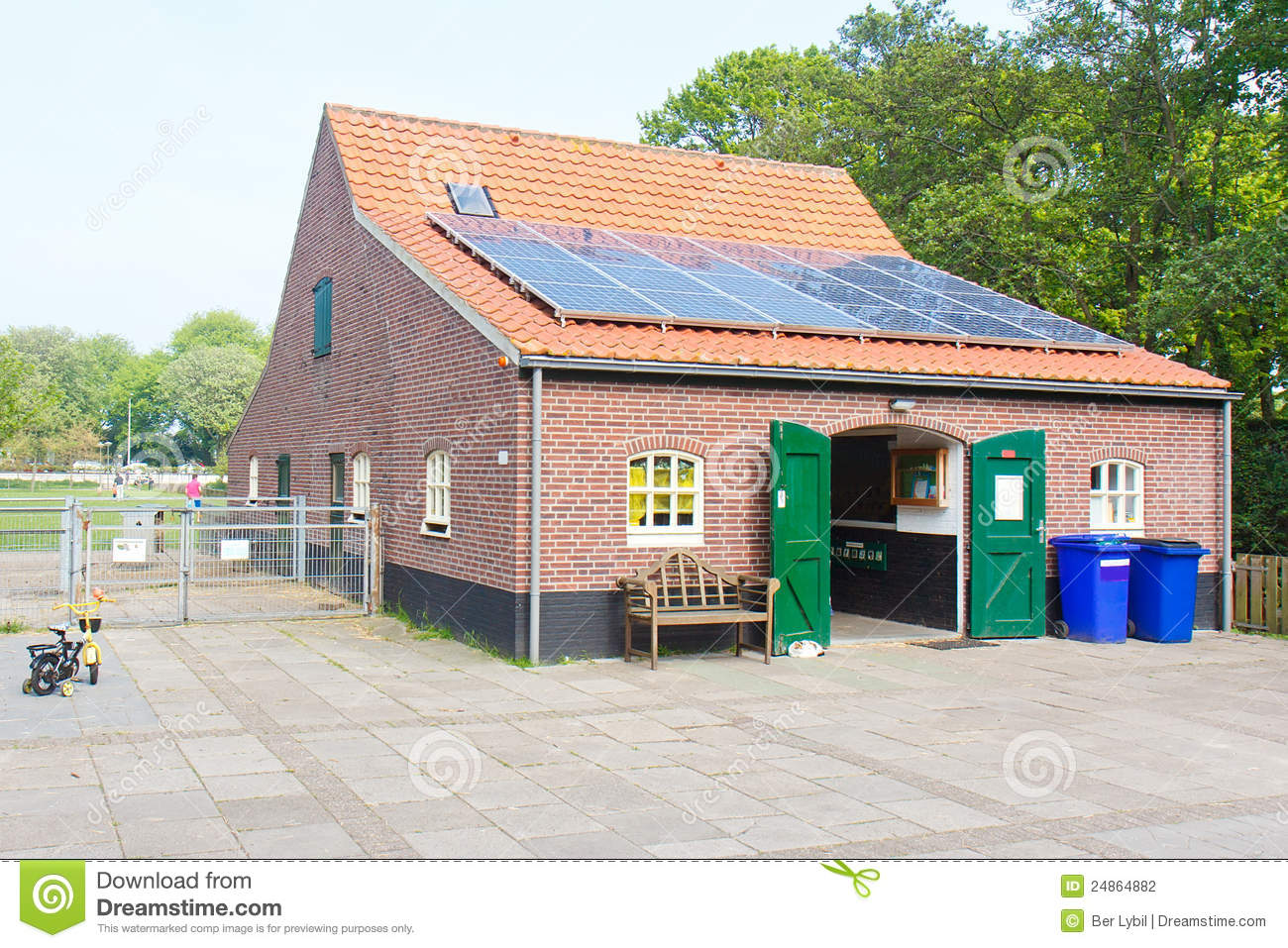 Eco friendly house stock photography image 24864882 for Friendly house