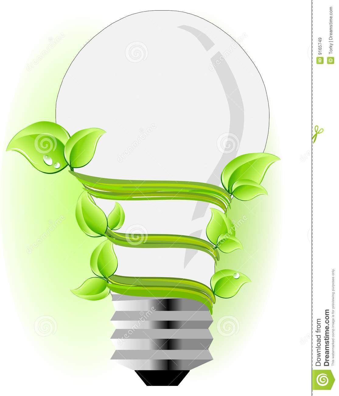 Eco Friendly Light Bulb Royalty Free Stock Images Image 9165749