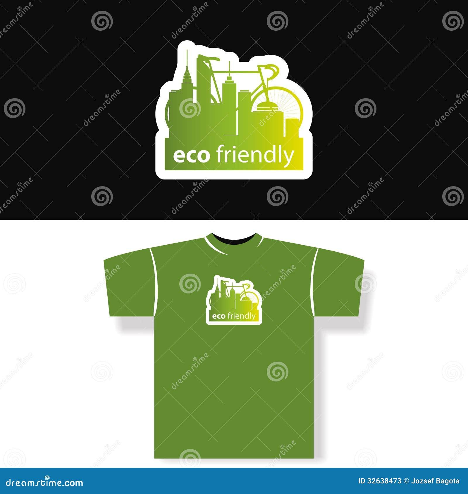 Shirt design green - Eco Friendly T Shirt Design