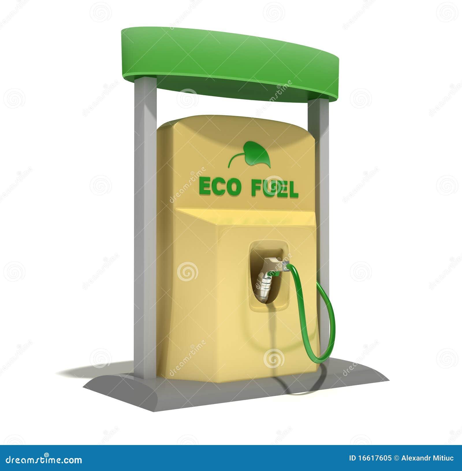 eco fuel station stock illustration illustration of petrol 16617605. Black Bedroom Furniture Sets. Home Design Ideas