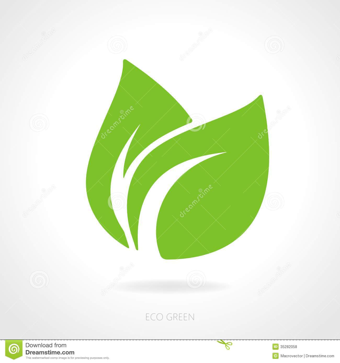 Eco Green Leaf Concept Royalty Free Stock Photos - Image: 35282058