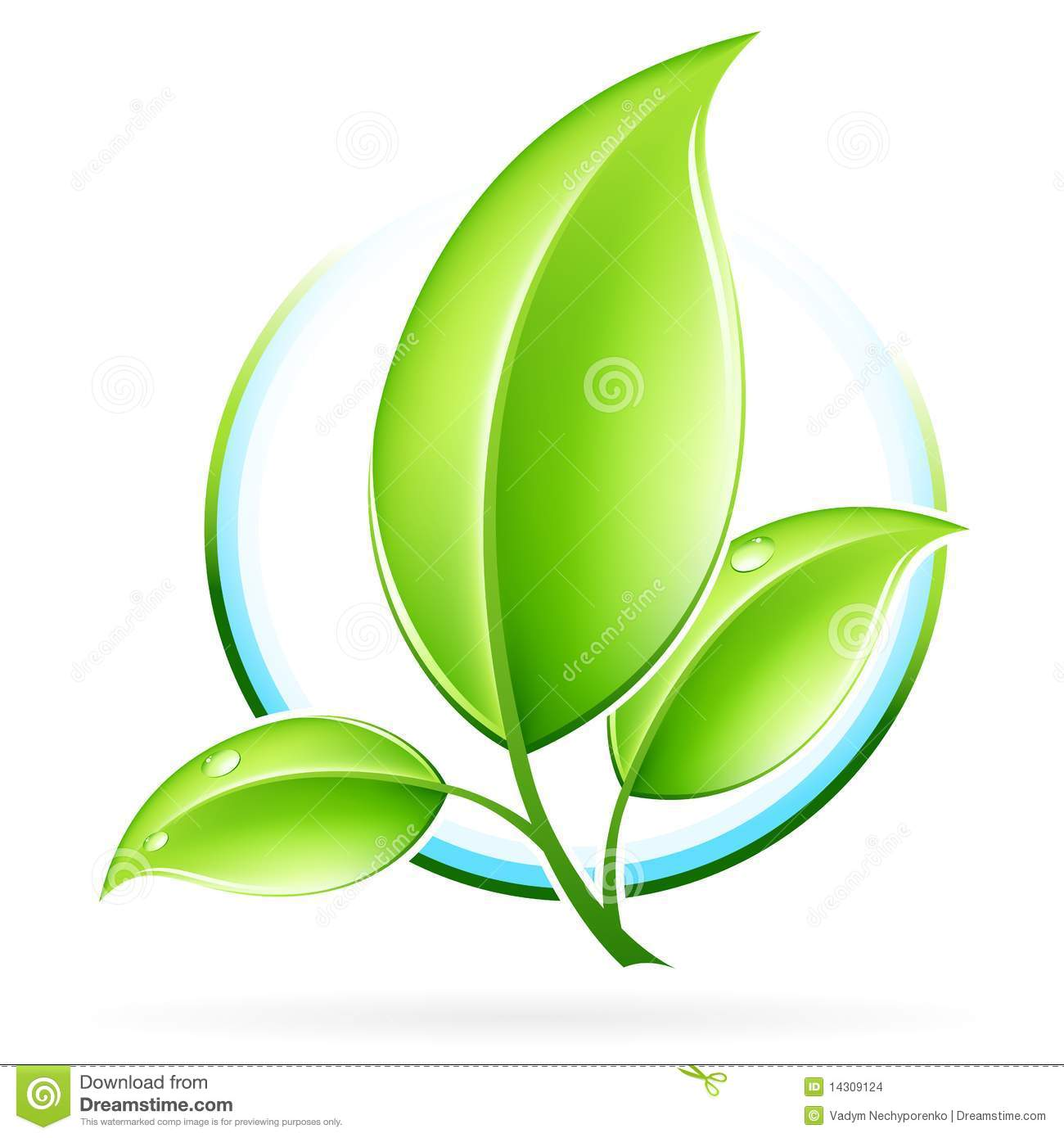 ECO Icon Stock Images - Image: 14309124