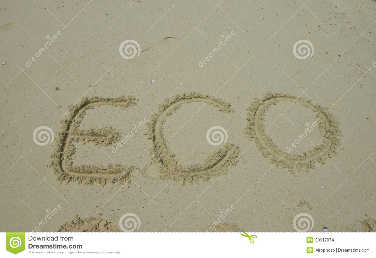 Write Eco Feindly Letter By Kids